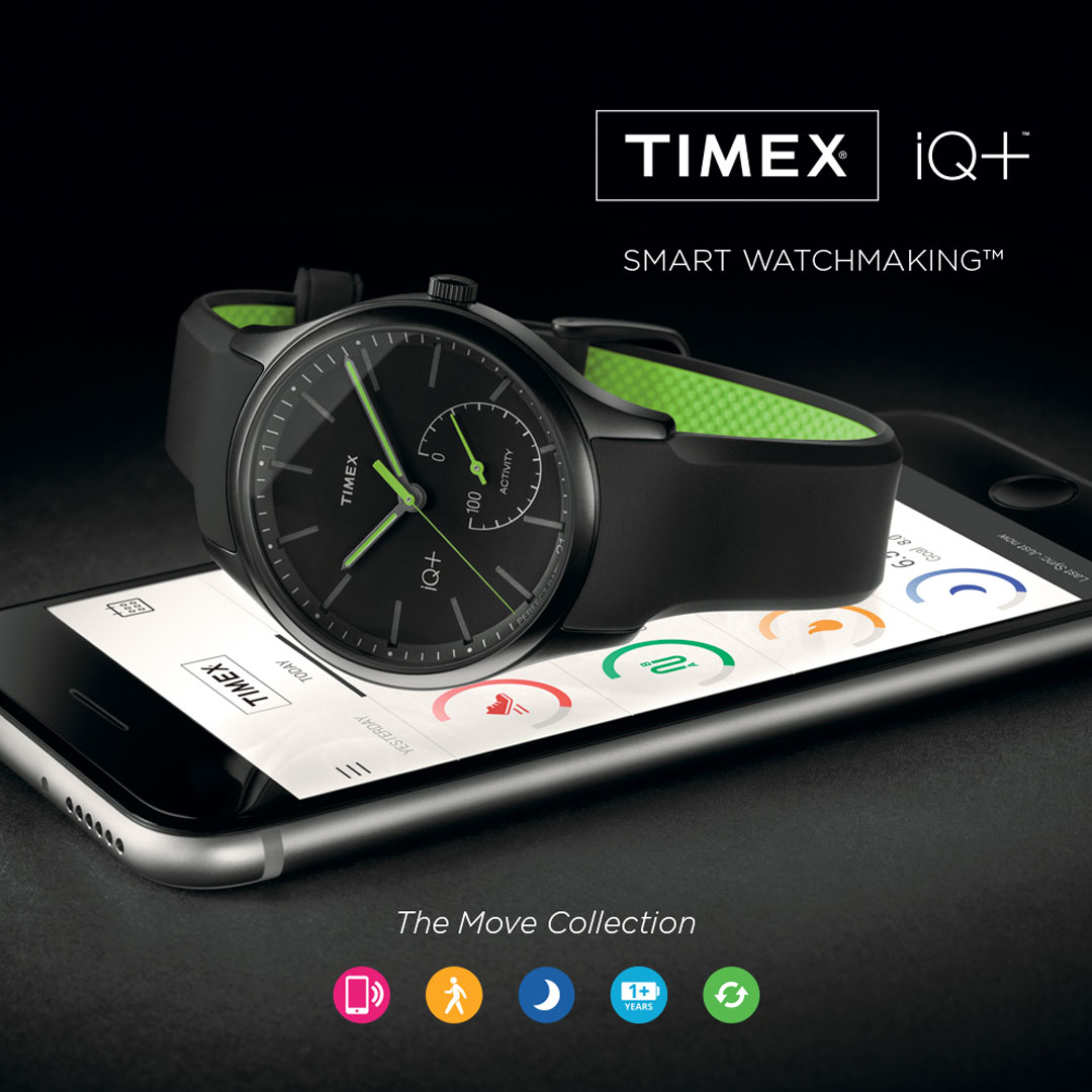 Timex IQ Move Watches