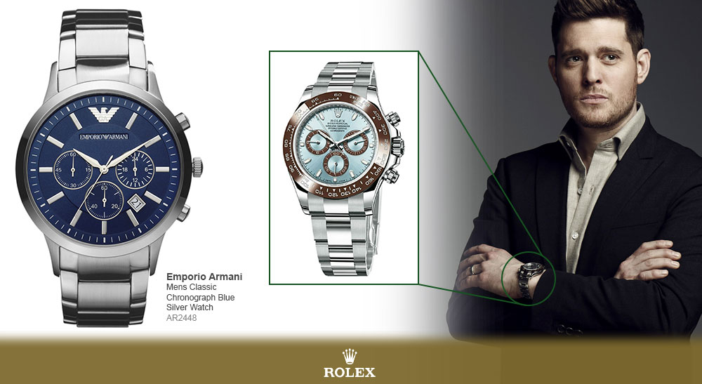 10 celebrity watches without the a list pricetag watches2u for Celebrity watches male