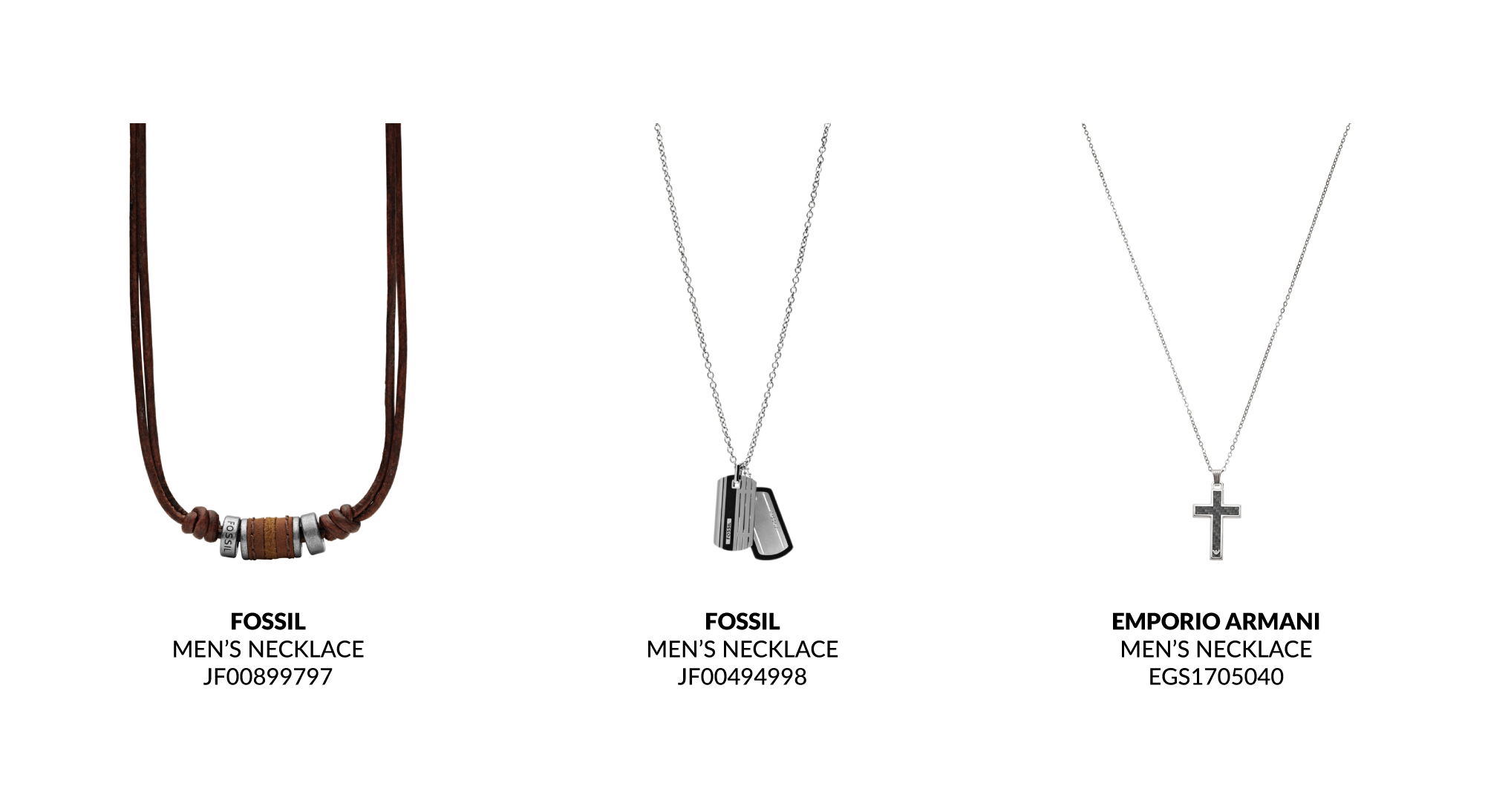 Father's Day Gift Guide Men's Necklaces