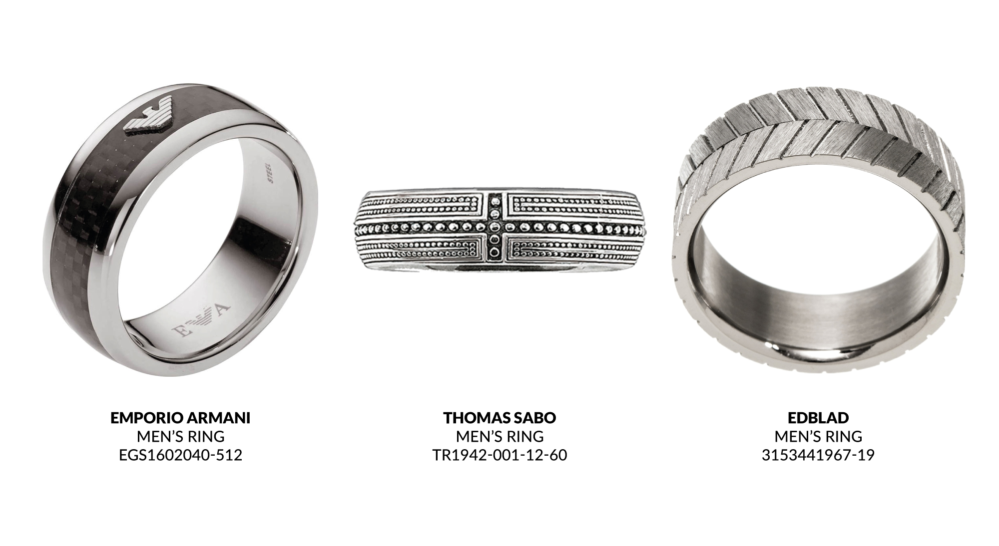 Father's Day Gift Guide Men's Rings