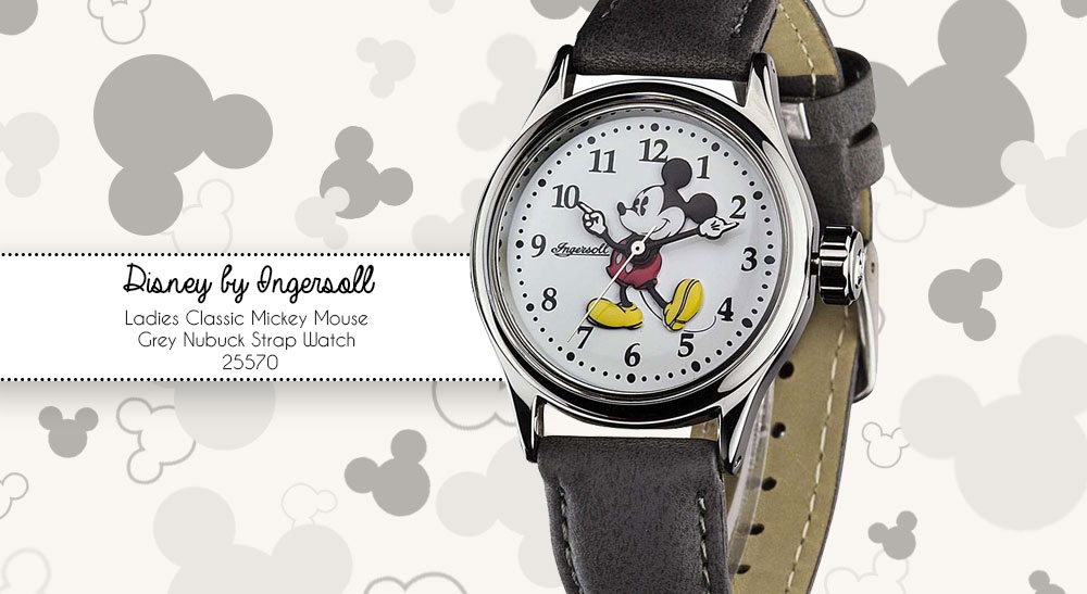 Collectibles Jewelry & Watches Mickey Mouse Wrist Watch Comfortable And Easy To Wear