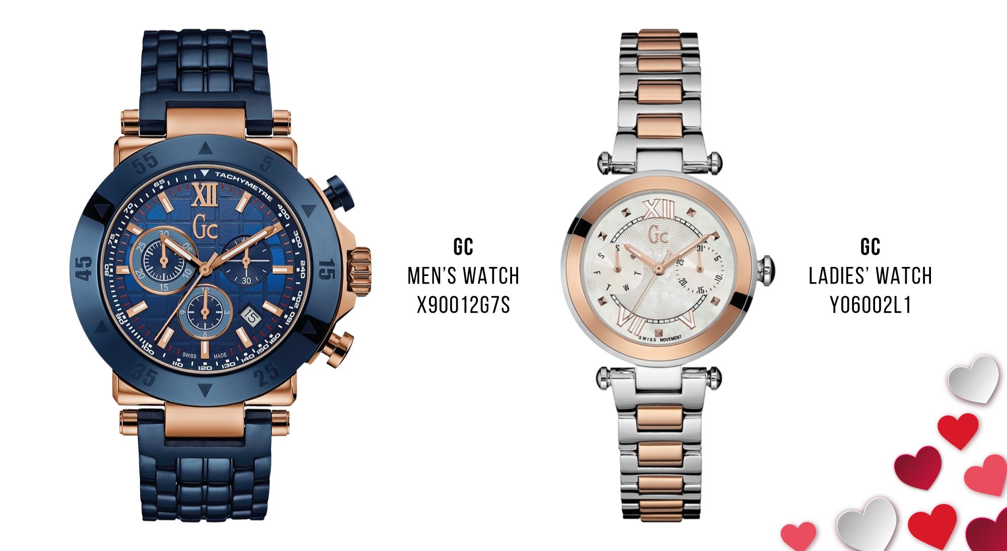 Luxury Valentine's Day Gifts GC watches