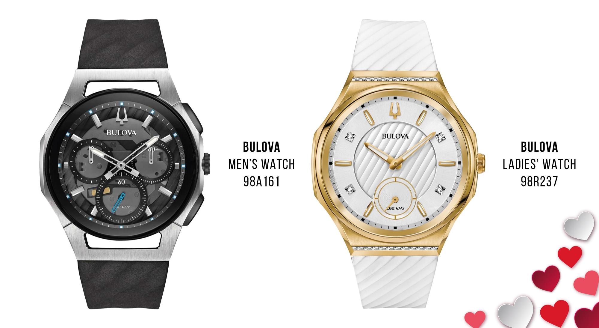Luxury Valentine's Day Gifts Bulova watches