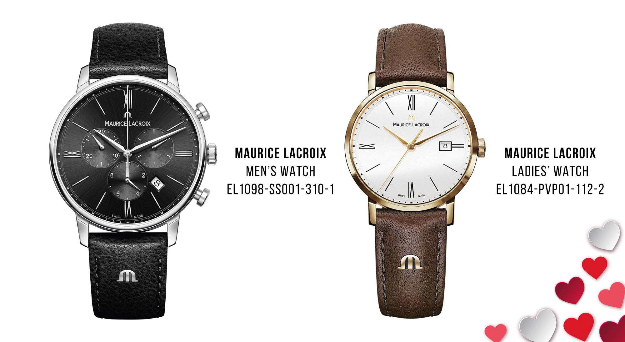 Luxury Valentine's Day Gifts Maurice Lacroix watches