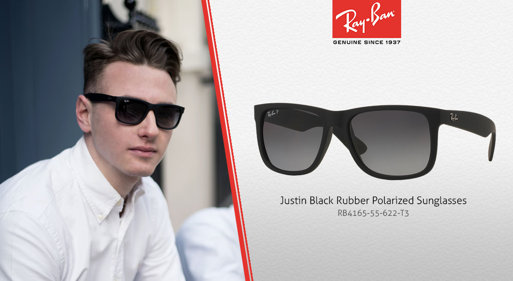 This leads to less eye strain and more comfort for the wearer. The rubber  frame of these sunglasses ups the level of comfort during daily wear. Justin f5a77e1004