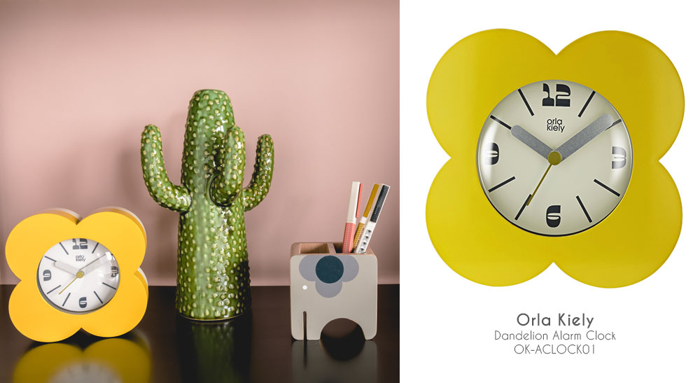 Orla Kiely Alarm Clock