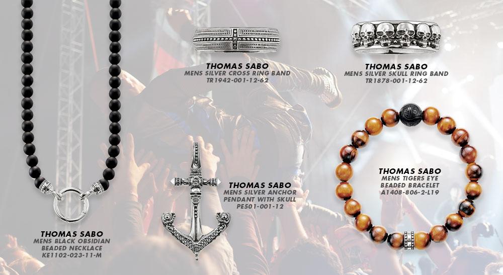 Men's Thomas Sabo Jewellery