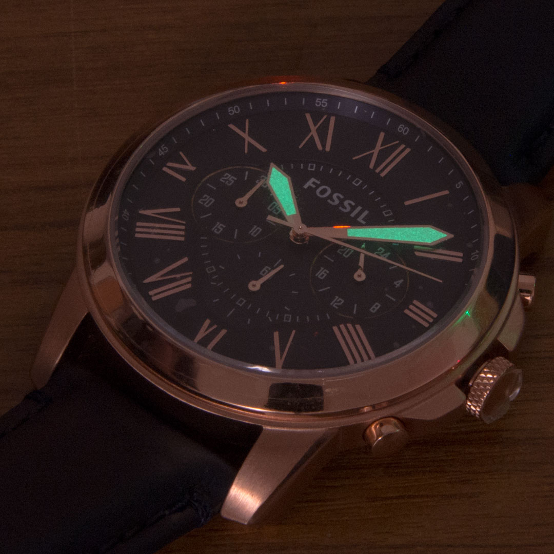 Fossil Watch FS4835 glow in the dark