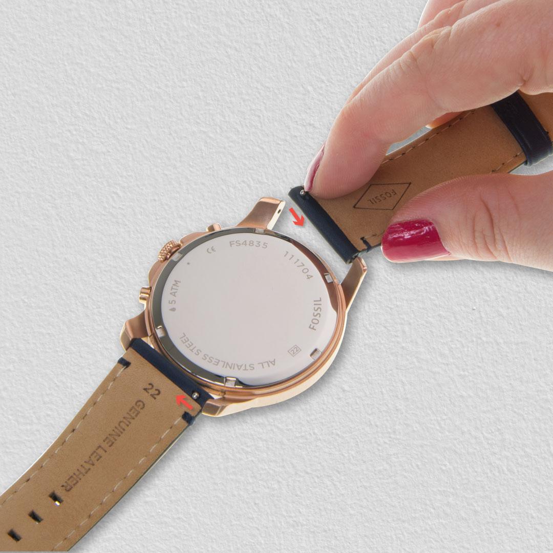 Fossil Watch FS4835 strap