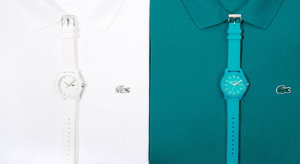 Lacoste 12.12 range inspired by Polo shirts