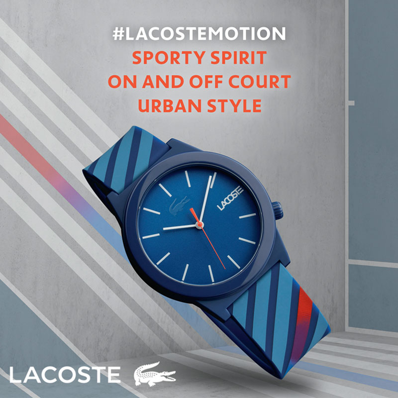 Lacoste Mens Motion Watch 2010934