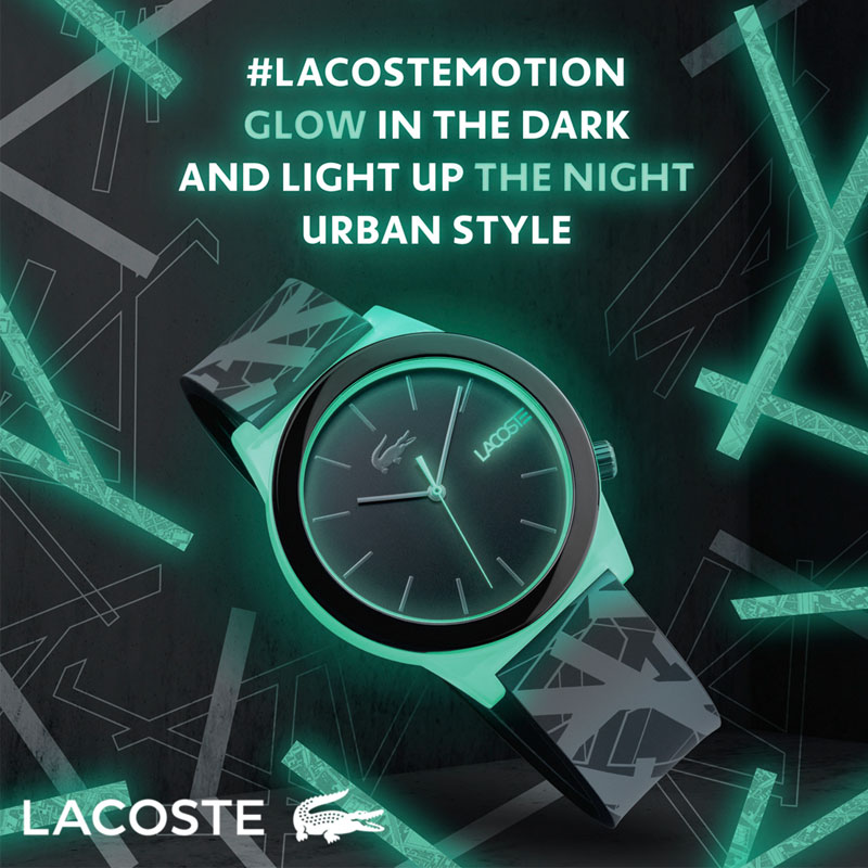 Lacoste Mens Motion Watch 2010932