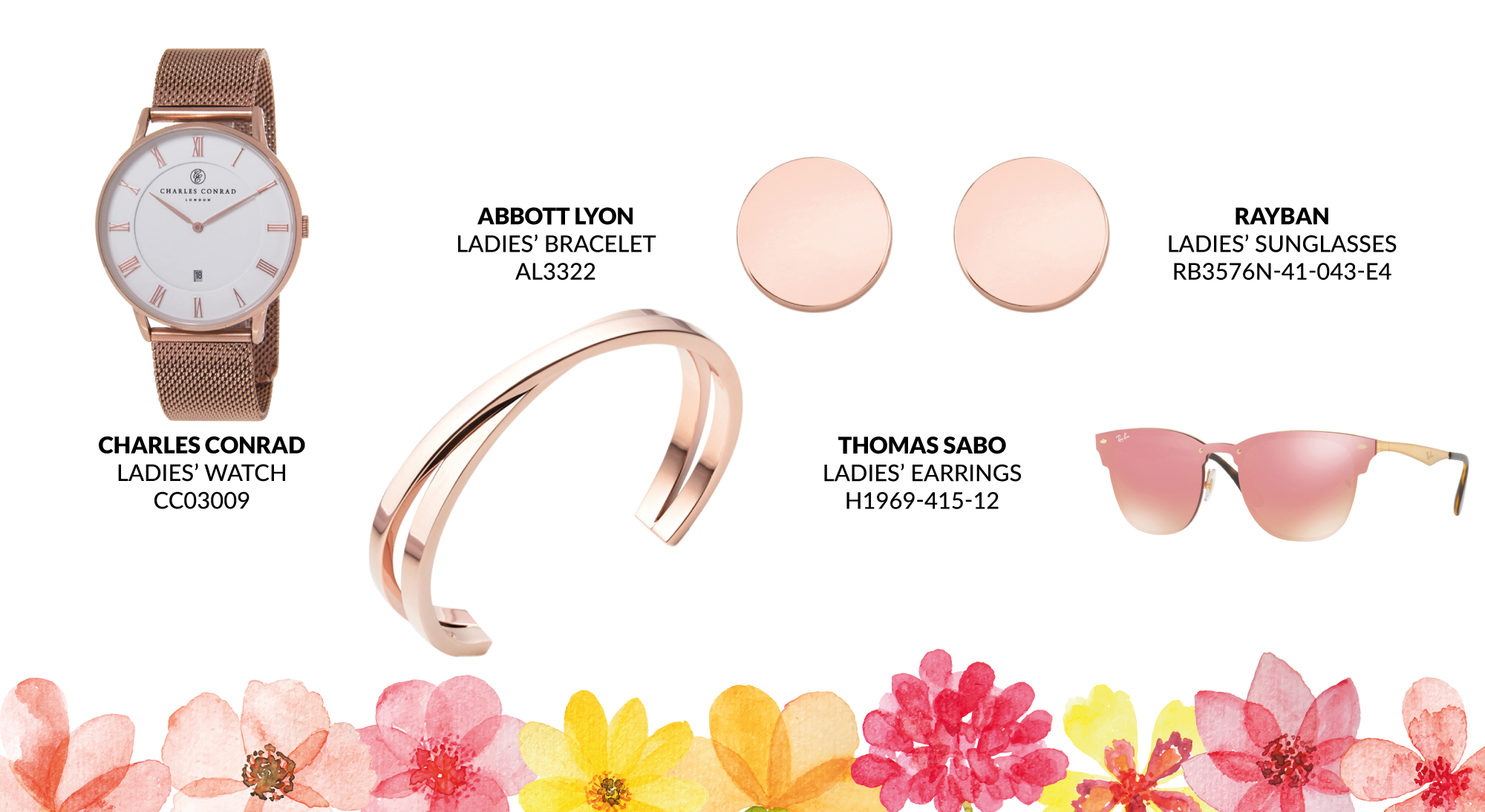 Rose Gold Style for Aintree