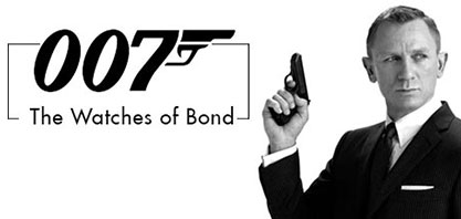 Watches of James Bond