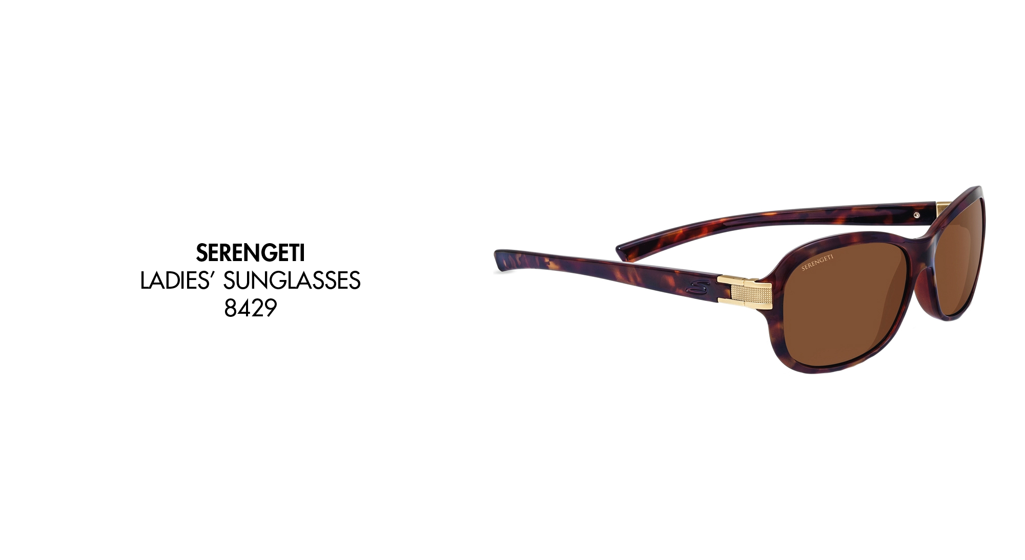 9dfe1f7553ac Serengeti 8270 Nuvino Shiny Black Polarized PhD 555nm Blue Mirror Sunglasses-  £112