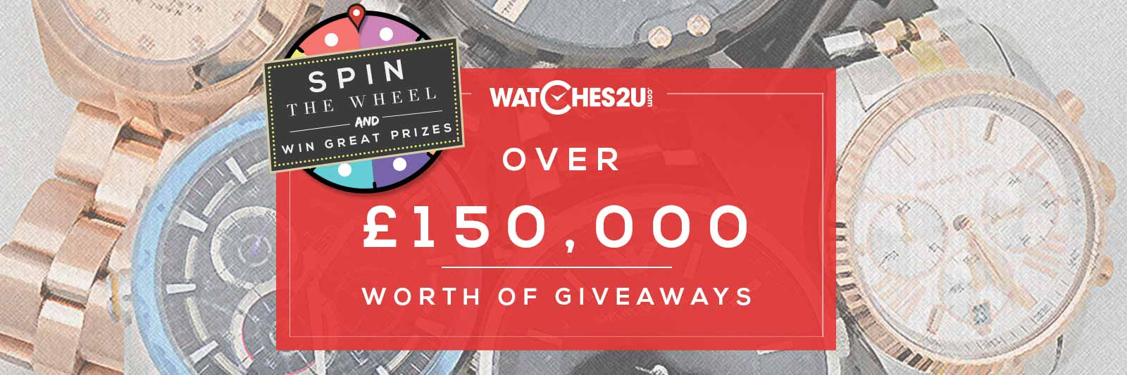 £150,000 Giveaway