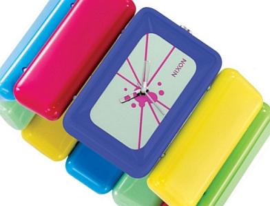 wrist watch. The Nixon x