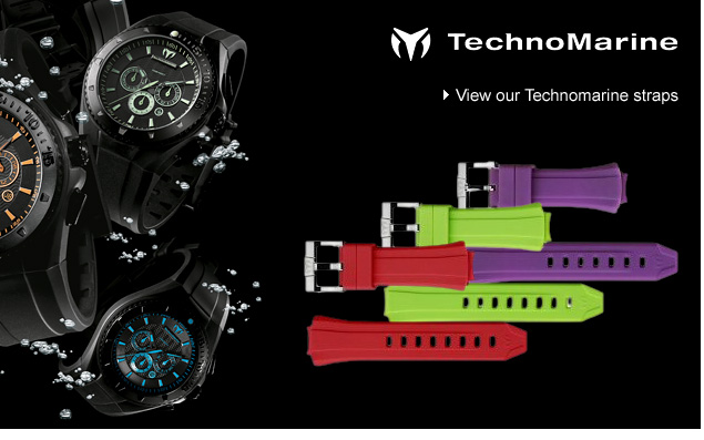 Technomarine watch straps