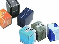 Example image of the Casio watch packaging