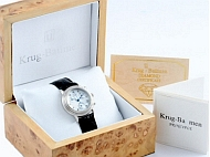 Example image of the Krug Baumen watch packaging