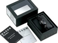 Example image of the Mango watch packaging