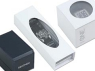 Example image of the Sekonda watch packaging