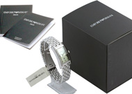 Example image of the Emporio Armani watch packaging